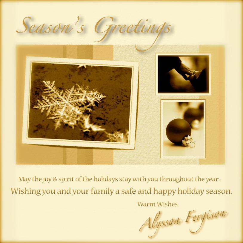 2009 Holiday Greeting