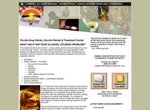 Small Business Website Design Sample Work - Awakening Recovery Center